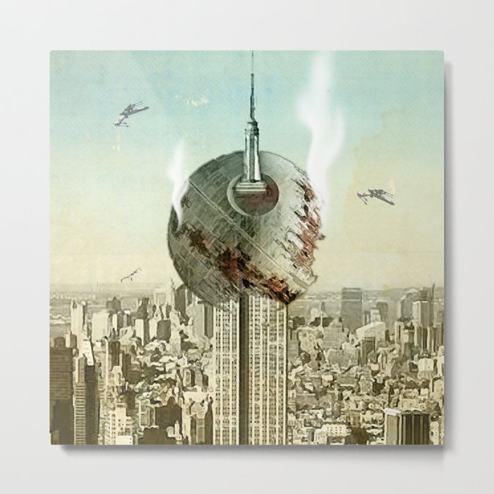 impaled on the empire Metal Print