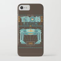 tron iPhone & iPod Cases featuring Tron Legacy by HomePosters