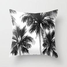 Paradis Noir VIII Throw Pillow