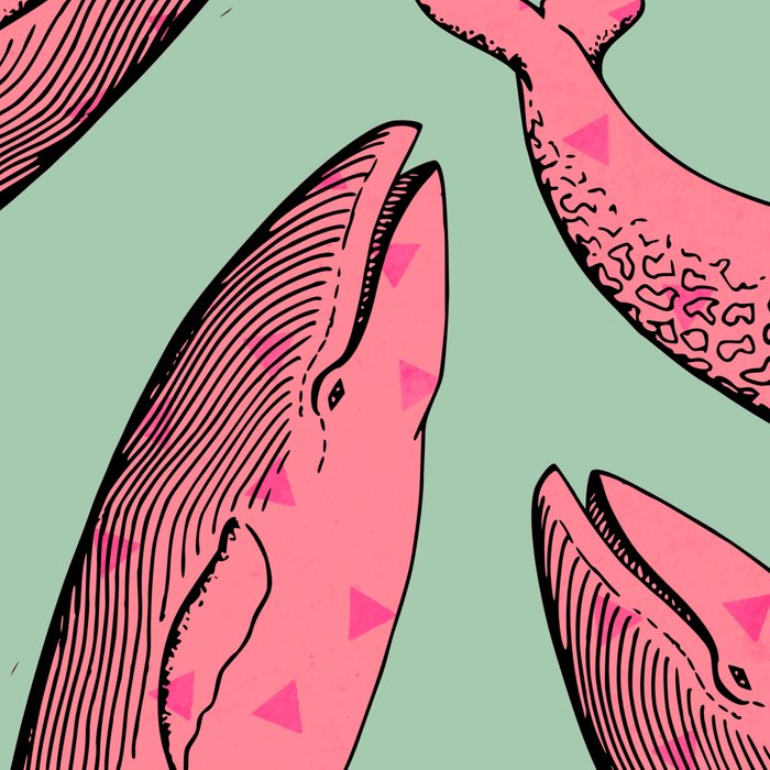 lusty whales Leggings