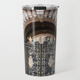 Black and Gold Travel Mug