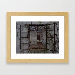 Broken Home Framed Art Print