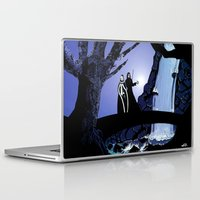 rogue Laptop & iPad Skins featuring Rogue & Remy  by Andrew Formosa