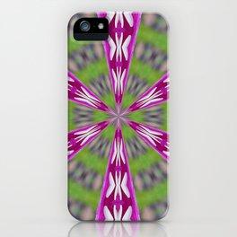 Kaleidoscope Dahlia iPhone Case