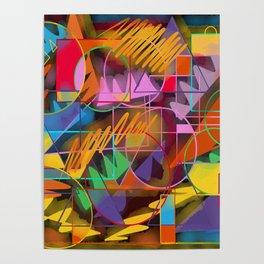 Colorful Retro Poster