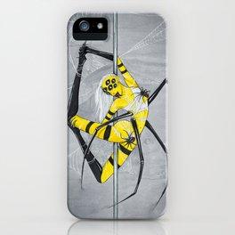 Poletober - Spider iPhone Case