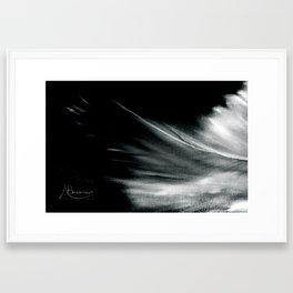 Passing Angel Framed Art Print