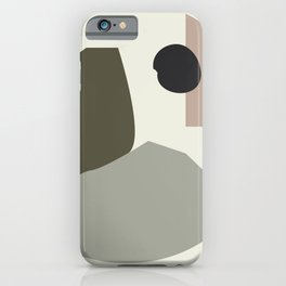 Shape study #35 - Lola Collection 2019 iPhone Case