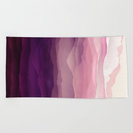 Ultra Violet Day Beach Towel