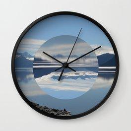 Turnagain Arm Flip Flop Wall Clock
