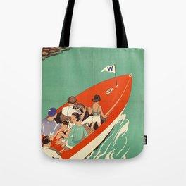 Lake Winnipesaukee - Vintage Poster Tote Bag