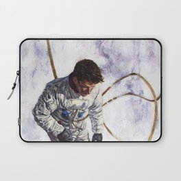 Hovering, Floating in Circles Laptop Sleeve