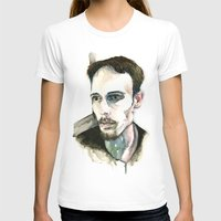 depression T-shirts featuring Portrait of Depression by ArtbyLumi
