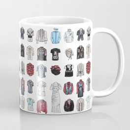Clothes For Large Colonial Dolls Coffee Mug