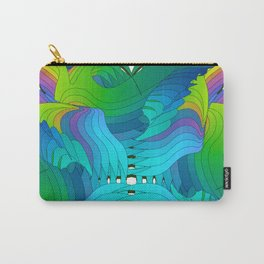 Wild unfirling Carry-All Pouch