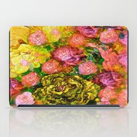 roses iPad Cases featuring Roses  by Saundra Myles