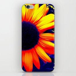 Radiation Flower iPhone Skin