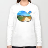 hiking Long Sleeve T-shirts featuring Another lonely hiking trail by Patrick Jobst