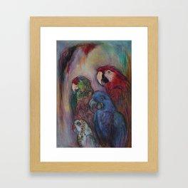 Well Hello Polly Framed Art Print