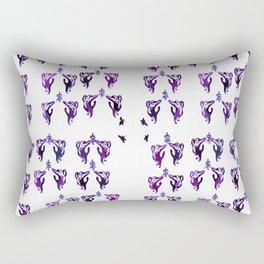 blueberry cats Rectangular Pillow