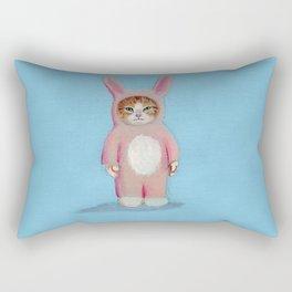 Cat Bunny Rectangular Pillow