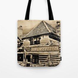 The Woodman Pub Art Tote Bag