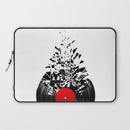 Vinyl shatter Laptop Sleeve