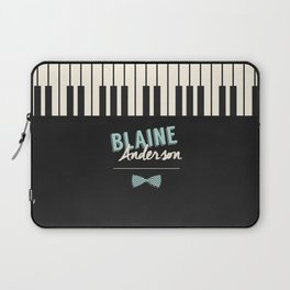 Blaine Anderson Piano Laptop Sleeve