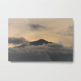 Mt Merapi - Central Java Metal Print
