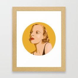 Queer Portrait - Tamara De Lempicka Framed Art Print