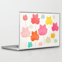 camus Laptop & iPad Skins featuring tulipifera 1 by Garima Dhawan