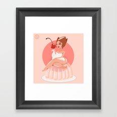 Jello Jane Framed Art Print