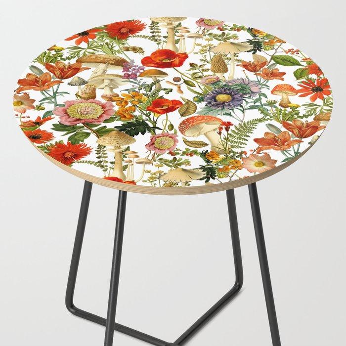Mushroom Dreams 2 Side Table by fatmabari | Society6