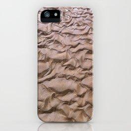 Wet sand iPhone Case