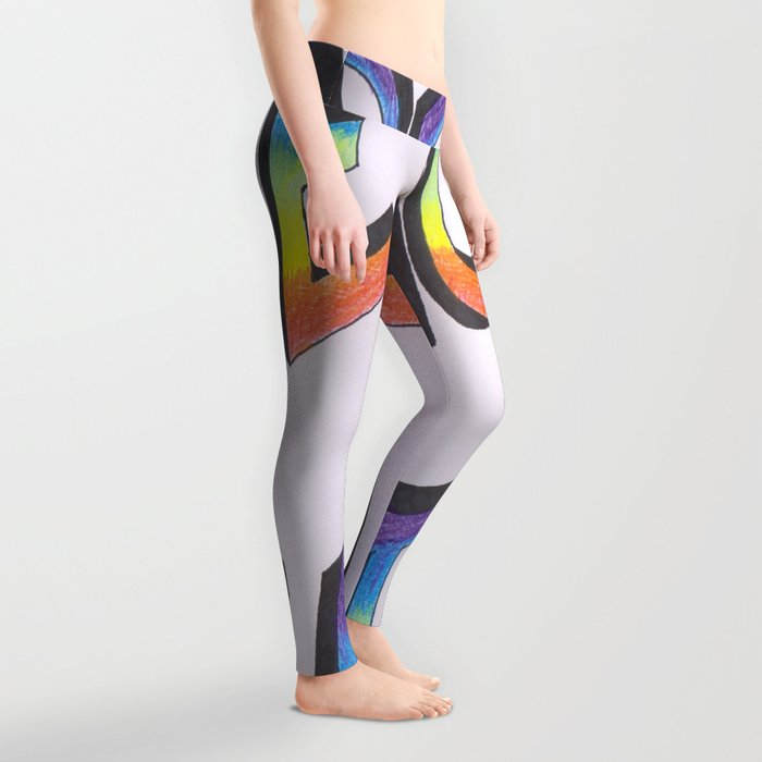 Let there be peace Leggings