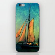 Fullview of The America in Key West FL iPhone Skin
