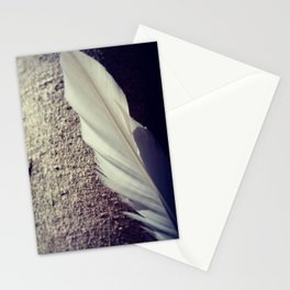 Tree Feather Stationery Cards