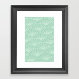 Lady in Mint Framed Art Print