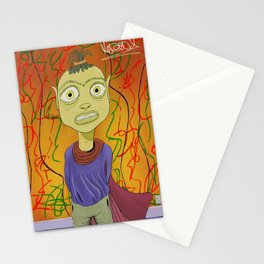 """Crayola"" Illustrated by Kieran David Stationery Cards"