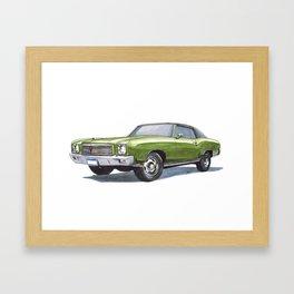 71 Monte Carlo SS 454 Framed Art Print