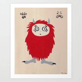 Little Monsters - Good Monster Art Print