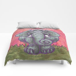 Animal Parade Elephant Comforters