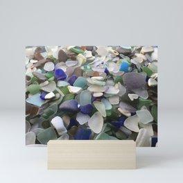 Sea Glass Assortment 5 Mini Art Print