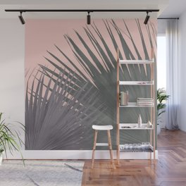 TWO PALM LEAVES Wall Mural