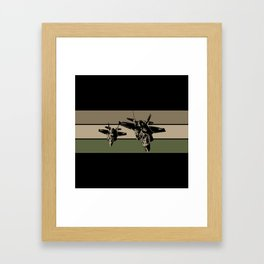 F-35 Stealth Fighters Framed Art Print