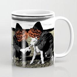 Flowerfaces Feeding A Lamb Coffee Mug