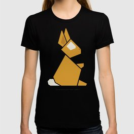 The geometric forest series - rabbit T-shirt