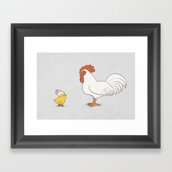 I'm Ready Now Framed Art Print