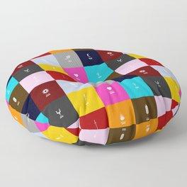 Demigods group Floor Pillow
