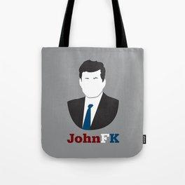 JohnFK Tote Bag
